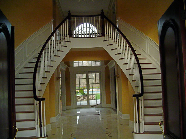 Captivating Long Island Home Staircase, Custom Staircase Long Island, Staircase Builder